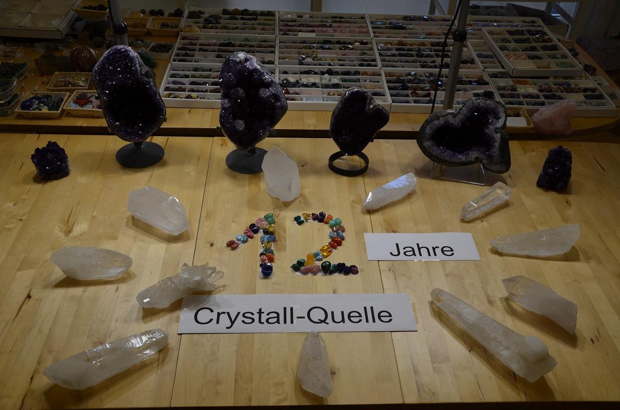 12 Jahre Crystall-Quelle in Freiburg-Oberwiehre
